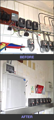 Safer electrics in Balcombe apartments